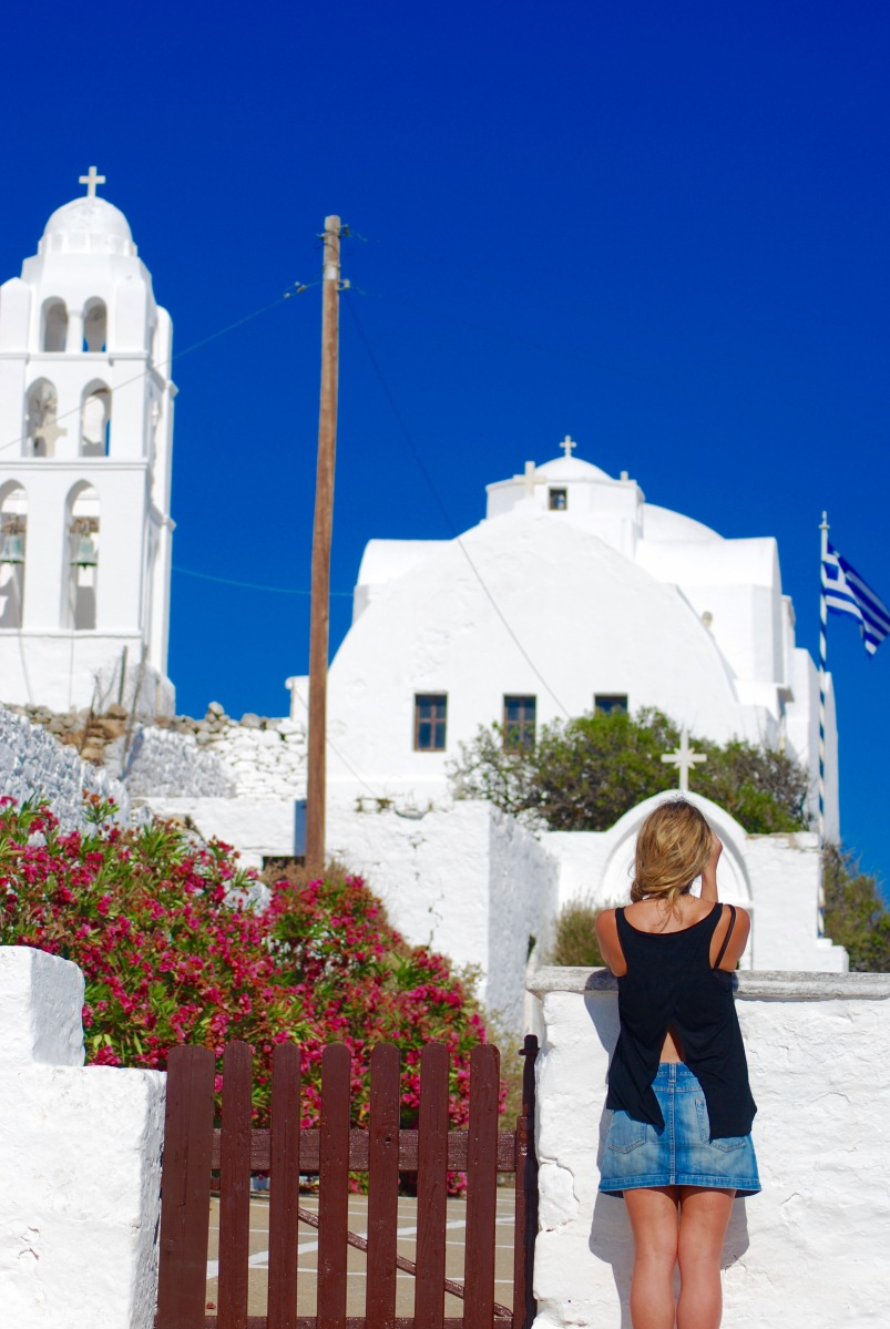 The Most Idyllic Greek Isle- Folegandros, The Cyclades.
